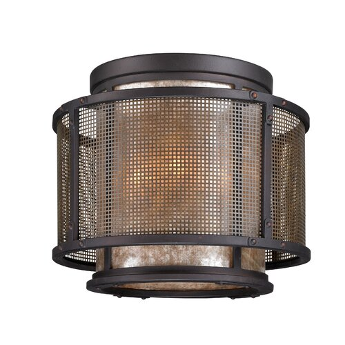 Troy Lighting Copper Mountain 4 Light Flush Mount