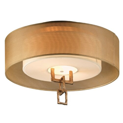 Troy Lighting Link 2 Light Semi-Flush Mount