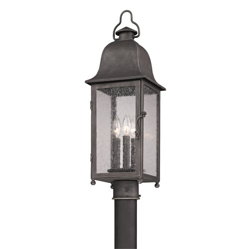 Troy Lighting Larchmont 3 Light Outdoor Post Lantern