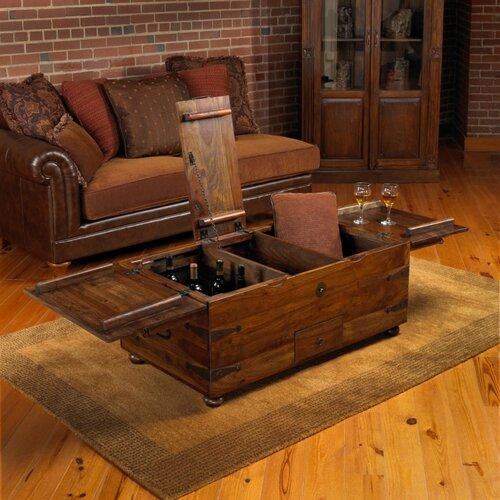 William Sheppee Thakat Trunk Coffee Table Reviews Wayfair