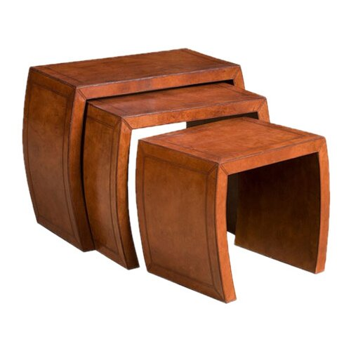 Barrister's 3 Piece Nesting Tables