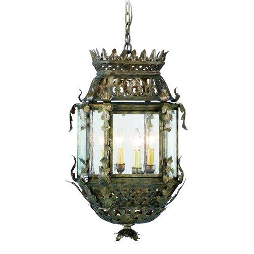Corbett Lighting Montrachet 4 Light Hanging Lantern