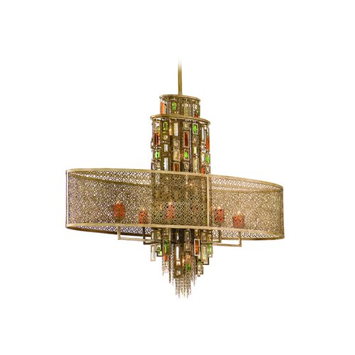 Corbett Lighting Riviera 11 Light Pendant