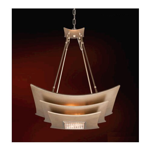 Corbett Lighting Muse 4 Light Inverted Pendant
