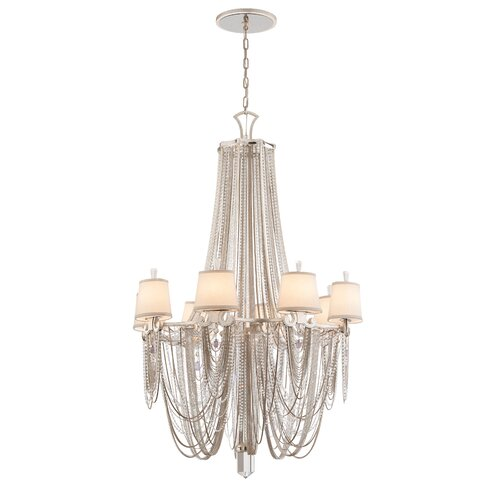 Corbett Lighting Flirt 8 Light Crystal Chandelier