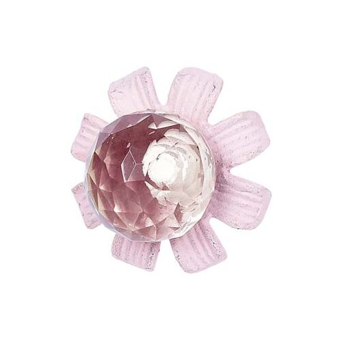 "Jubilee Collection Petal Flower 3.25"" Novelty Knob"