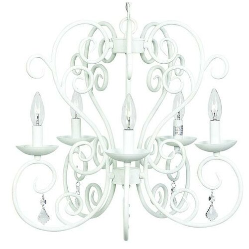 5 Light Carriage Chandelier
