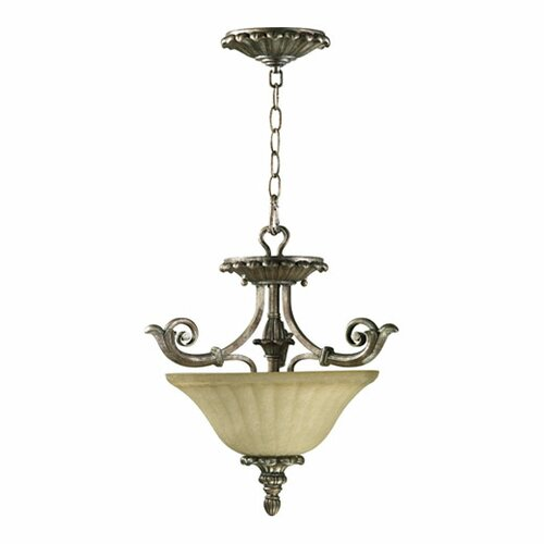 Barcelona 2 Light Convertible Inverted Pendant