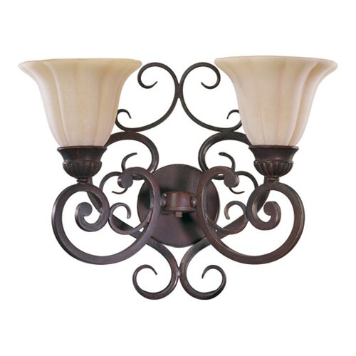 Quorum Coronado 2 Light Wall Sconce