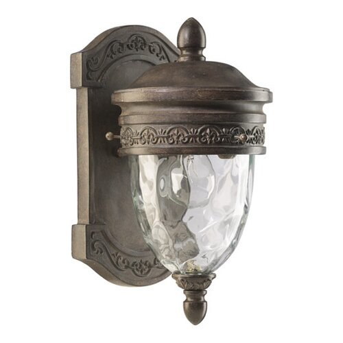 Quorum Georgia 1 Light Outdoor Wall Lantern