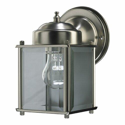 Quorum Lantern 1 Light Box Outdoor Wall Lantern