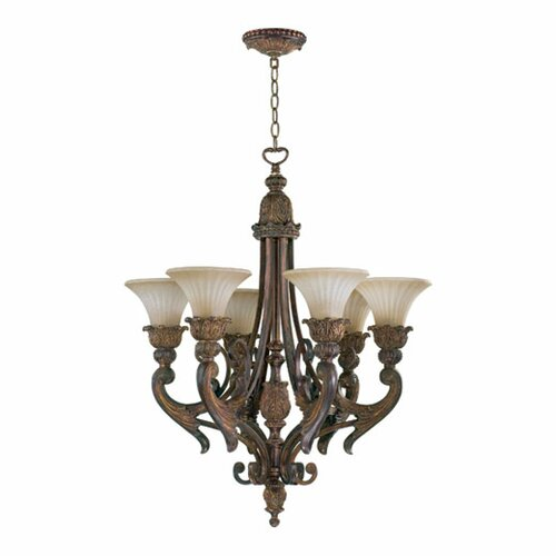 Quorum Madeleine 6 Light Chandelier