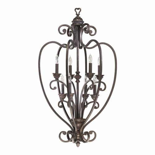 Quorum Summerset 8 Light Foyer Pendant