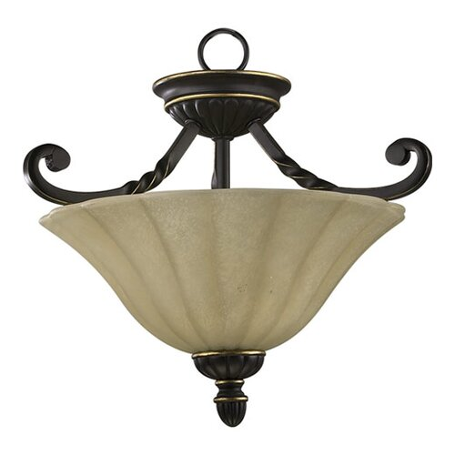 Quorum Tribeca 2 Light Convertible Inverted Pendant