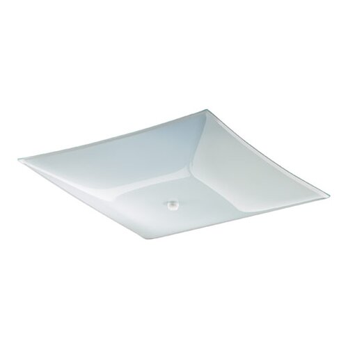 Quorum Ceiling Mount in White