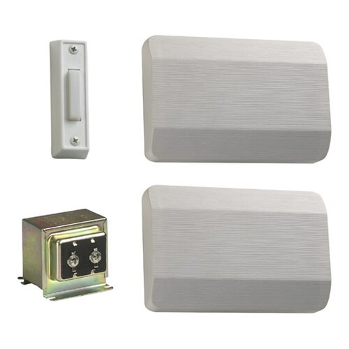 Quorum Single Door Chime Kit in White