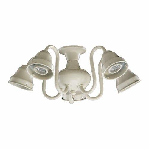 Quorum 5 Light Branched Ceiling Fan Light Kit