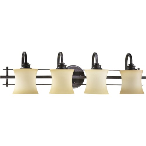 Quorum Prairie 4 Light Vanity Light