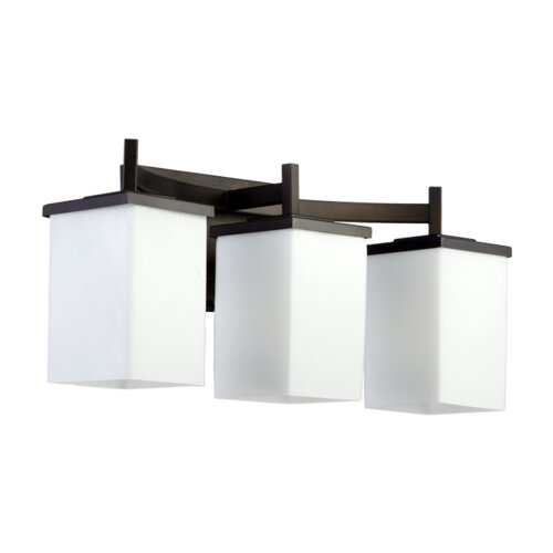 Quorum Delta 3 Light Bath Vanity Light