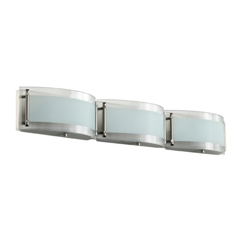 Bathroom Vanity Lights Pictures : Quorum 3 Light Bath Vanity Light & Reviews Wayfair