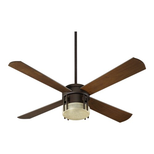 "Quorum 52"" Mission 4 Blade Ceiling Fan"