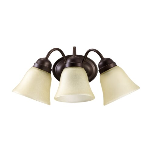 Quorum 3 Light Transitional Wall Sconce