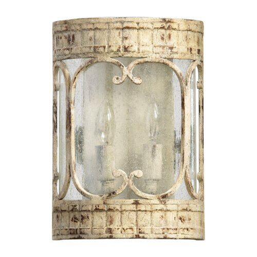 Quorum Florence 2 Light Wall Sconce