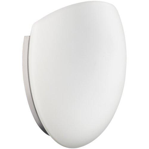 Quorum 1 Light Wall Sconce with Opal Glass