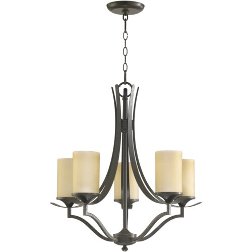 Quorum Atwood 5 Light Chandelier