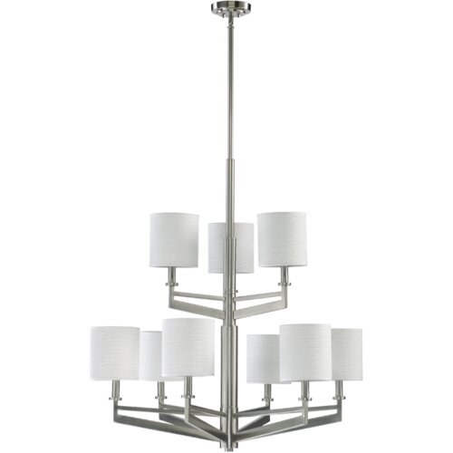 Quorum Channing 9 Light Chandelier