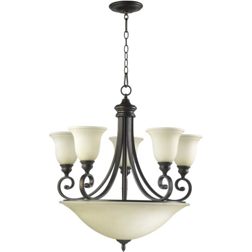 Quorum Bryant 9 Light Chandelier