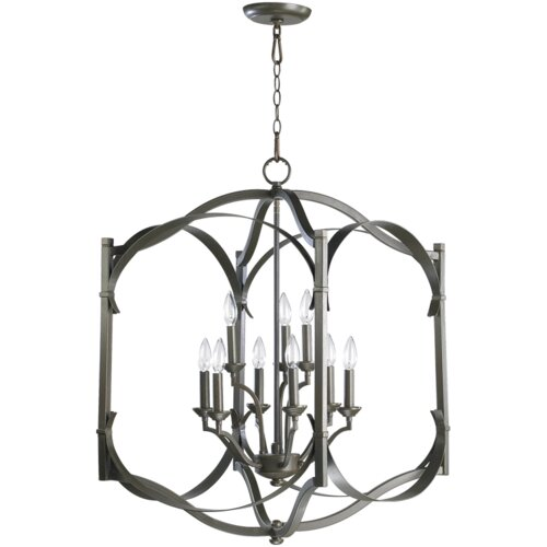 Quorum Atwood 9 Light Foyer Pendant