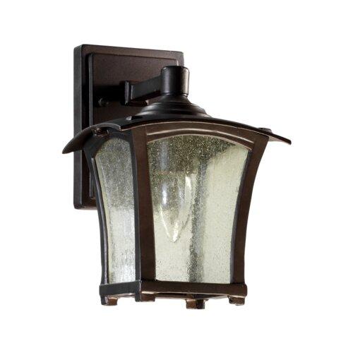 Quorum Gable 1 Light Outdoor Wall Lantern