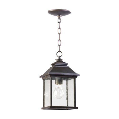 Quorum Pearson 1 Light Outdoor Pendant