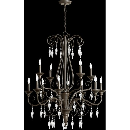 Vesta 12 Light Chandelier