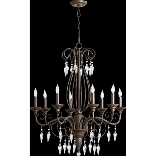 Vesta 8 Light Chandelier