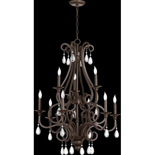 Anders 9 Light Chandelier
