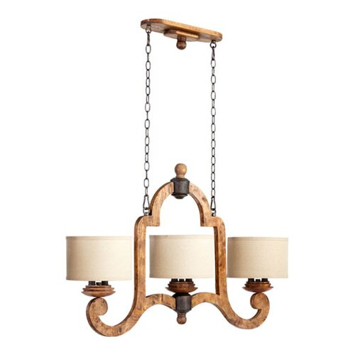 Quorum Ashford 6 Light Kitchen Pendant Light