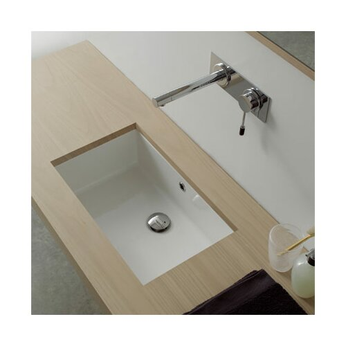 Scarabeo by Nameeks Miky Undermount Bathroom Sink