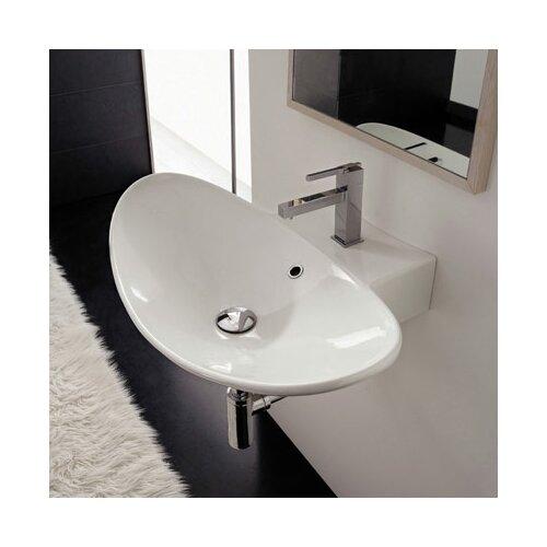 Scarabeo by Nameeks Zefiro Wall Mounted Bathroom Sink