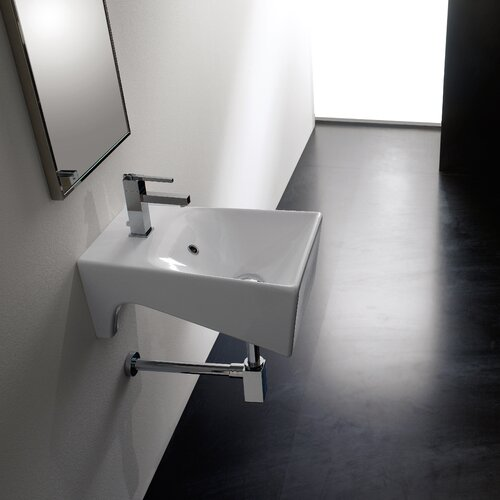 Bijoux Wall Mount Bathroom Sink