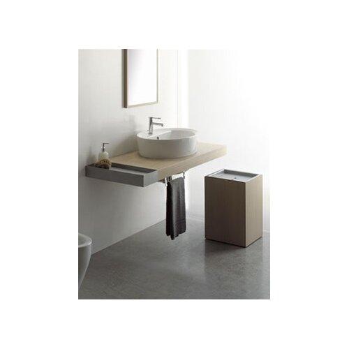 "Scarabeo by Nameeks Line 19.7"" x 3.2"" Bathroom Shelf"