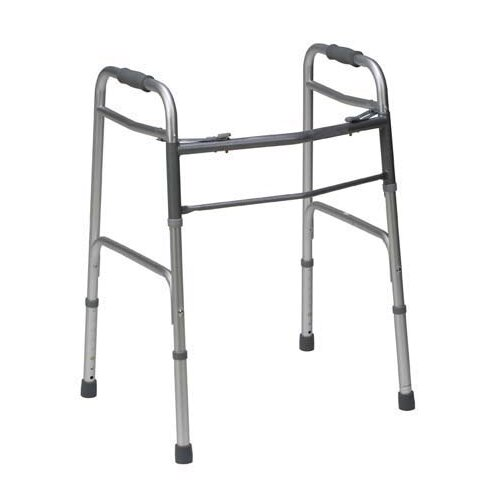 Briggs Healthcare Bariatric Two-Button Release Folding Walker