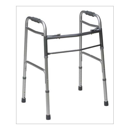 Briggs Healthcare Two-Button Release Folding Walker