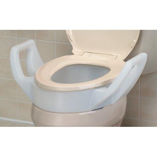 Briggs Healthcare Elongated Raised Toilet Seat