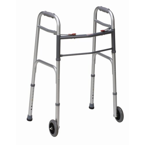 Briggs Healthcare Button Release Folding Walker