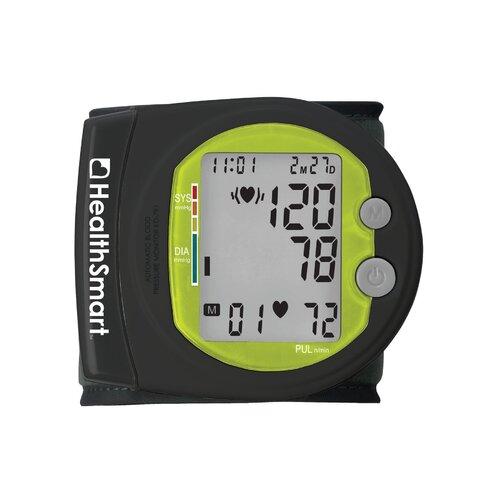 Briggs Healthcare Healthsmart Sports Automatic Wrist Digital Blood Pressure Monitor in Black