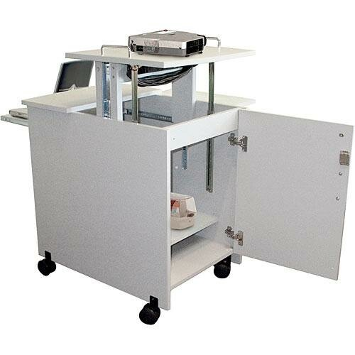 H. Wilson Company 5-Shelf Presentation Station with Cabinet