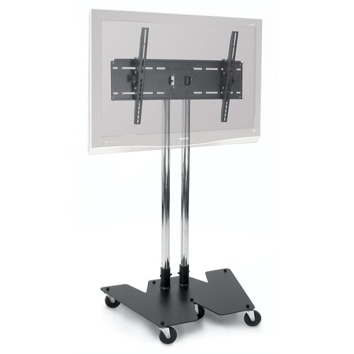 """H. Wilson Company Fixed Floor Stand Mount for 32"""" - 60"""" Flat Panel Screens"""