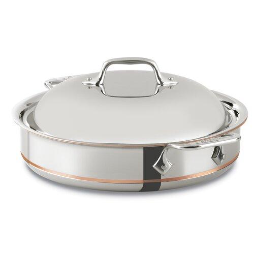 All-Clad Copper Core 3-qt. Saute Pan with Lid